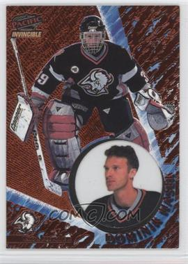 1997-98 Pacific Invincible Copper #12 - Dominik Hasek