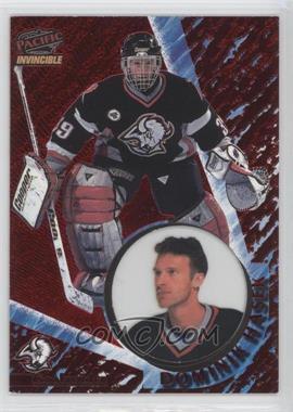 1997-98 Pacific Invincible Copper #12 - Dominik Hasek