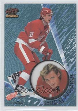 1997-98 Pacific Invincible Ice Blue #46 - Sergei Fedorov