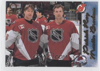 1997-98 Pacific Omega Gold #249 - Patrick Roy, Martin Brodeur
