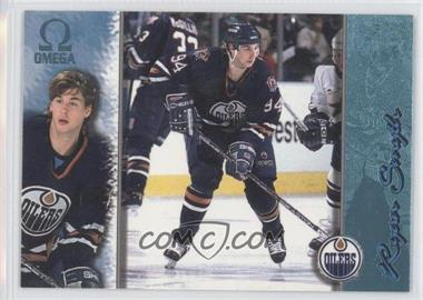 1997-98 Pacific Omega Ice Blue #95 - Ryan Smyth