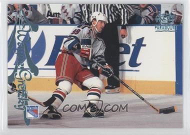1997-98 Pacific Paramount - [Base] - Ice Blue #115 - Wayne Gretzky