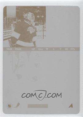 1997-98 Pinnacle - [Base] - Printing Plate Yellow Back #82 - Jamie Storr /1