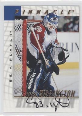 1997-98 Pinnacle Be A Player - [Base] - Autographs [Autographed] #138 - Craig Billington