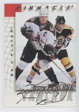 1997-98 Pinnacle Be A Player - [Base] - Autographs [Autographed] #22 - Keith Tkachuk