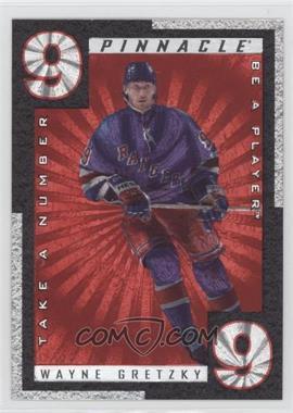 1997-98 Pinnacle Be A Player - Take A Number #TN8 - Wayne Gretzky