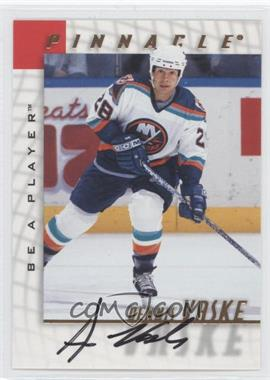 1997-98 Pinnacle Be A Player Autographs [Autographed] #120 - Dennis Vaske