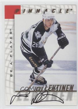 1997-98 Pinnacle Be A Player Autographs [Autographed] #123 - Jere Lehtinen