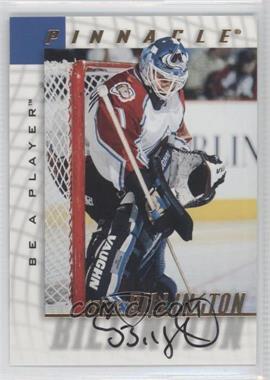 1997-98 Pinnacle Be A Player Autographs [Autographed] #138 - Craig Billington
