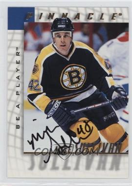 1997-98 Pinnacle Be A Player Autographs [Autographed] #179 - Mike Sullivan
