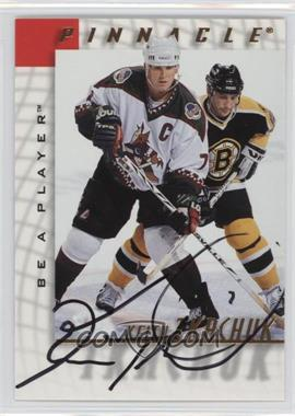 1997-98 Pinnacle Be A Player Autographs [Autographed] #22 - Keith Tkachuk