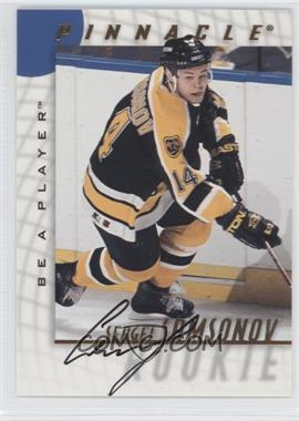 1997-98 Pinnacle Be A Player Autographs [Autographed] #220 - Sergei Samsonov