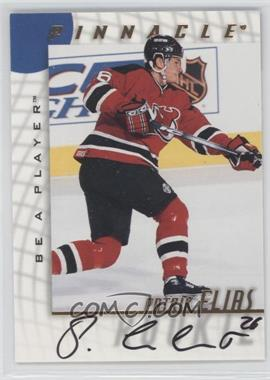 1997-98 Pinnacle Be A Player Autographs [Autographed] #228 - Patrik Elias
