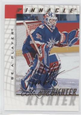 1997-98 Pinnacle Be A Player Autographs [Autographed] #37 - Mike Richter