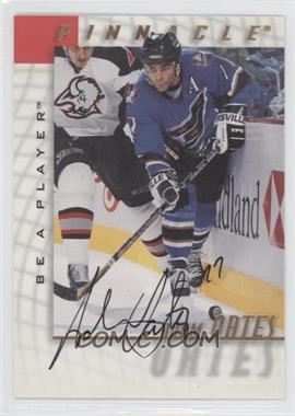 1997-98 Pinnacle Be A Player Autographs [Autographed] #5 - Adam Oates