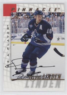 1997-98 Pinnacle Be A Player Autographs [Autographed] #9 - Trevor Linden