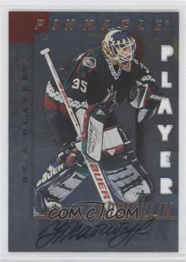 1997-98 Pinnacle Be A Player Die-Cut Autographs [Autographed] #13 - Nikolai Khabibulin