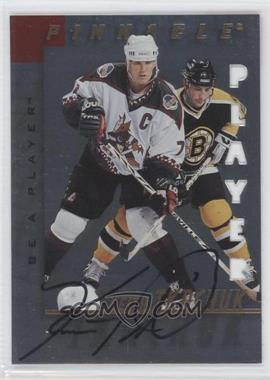 1997-98 Pinnacle Be A Player Die-Cut Autographs [Autographed] #22 - Keith Tkachuk