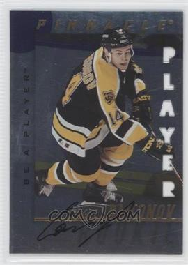 1997-98 Pinnacle Be A Player Die-Cut Autographs [Autographed] #220 - Sergei Samsonov