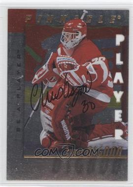 1997-98 Pinnacle Be A Player Die-Cut Autographs [Autographed] #25 - Chris Osgood