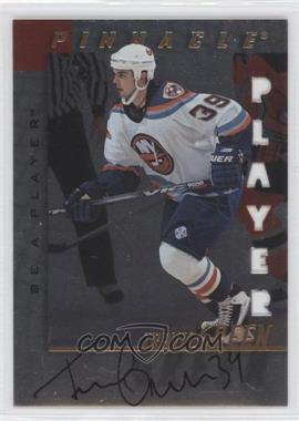 1997-98 Pinnacle Be A Player Die-Cut Autographs [Autographed] #63 - Travis Green