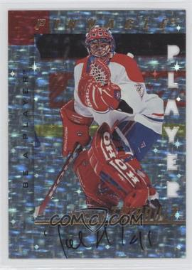 1997-98 Pinnacle Be A Player Prismatic Die-Cut Autographs [Autographed] #10 - Jocelyn Thibault