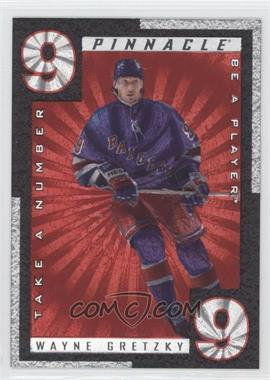 1997-98 Pinnacle Be A Player Take A Number #TN8 - Wayne Gretzky