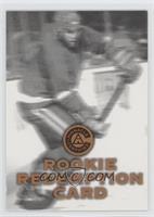 Rookie Redemption Card