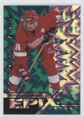 1997-98 Pinnacle Epix Emerald Moment #E16 - Brendan Shanahan