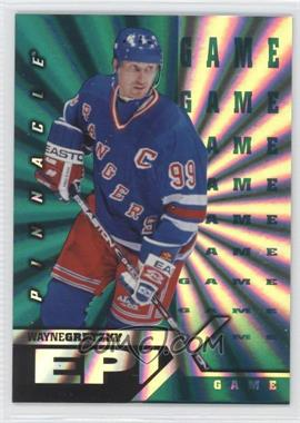 1997-98 Pinnacle Epix Green Game #E1 - Wayne Gretzky