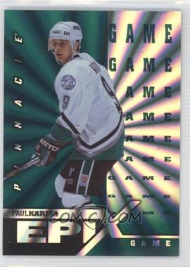 1997-98 Pinnacle Epix Green Game #E19 - Paul Kariya