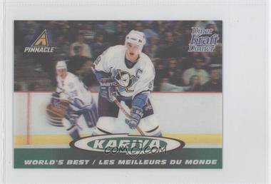 1997-98 Pinnacle Kraft Dinner 3-D World's Best #8 - Paul Kariya