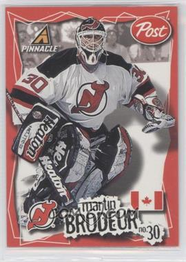 1997-98 Pinnacle Post #8 - Martin Brodeur