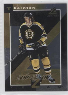 1997-98 Pinnacle Zenith Z Team Gold #10 - Joe Thornton