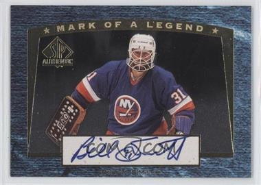 1997-98 SP Authentic - Mark of a Legend #M2 - Billy Smith /510