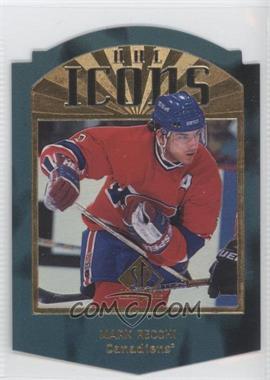 1997-98 SP Authentic - NHL Icons - Die-Cut #I25 - Mark Recchi /100
