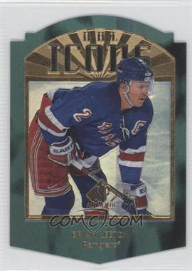 1997-98 SP Authentic - NHL Icons - Die-Cut #I39 - Brian Leetch /100
