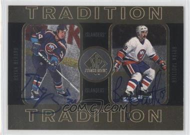 1997-98 SP Authentic - Tradition #4 - Bryan Berard, Bryan Trottier /352