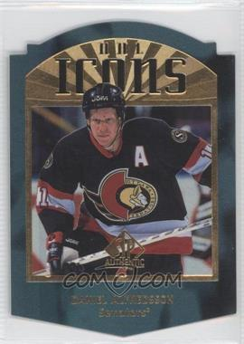 1997-98 SP Authentic NHL Icons Die-Cut #I30 - Daniel Alfredsson /100