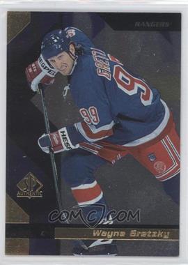 1997-98 SP Authentic Sample #99 - Wayne Gretzky