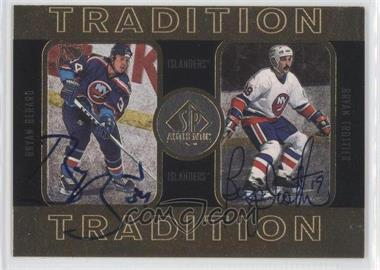 1997-98 SP Authentic Tradition #4 - Bryan Berard, Bryan Trottier /352