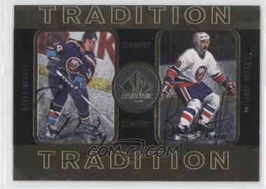 1997-98 SP Authentic Tradition #4 - Bryan Berard, Bryan Trottier /352