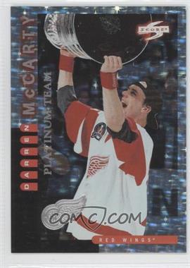 1997-98 Score Detroit Red Wings Platinum Team #6 - Darren McCarty