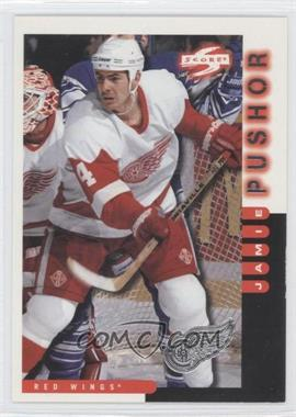 1997-98 Score Team Collection Detroit Red Wings #19 - Jamie Pushor