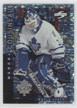 1997-98 Score Team Collection Toronto Maple Leafs Platinum Team #3 - Marcel Cousineau