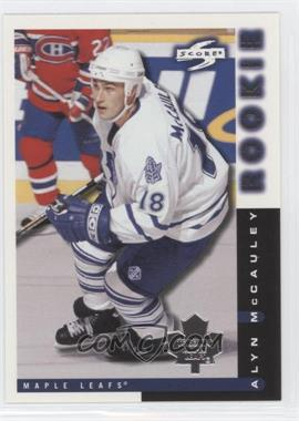 1997-98 Score Team Collection Toronto Maple Leafs #17 - Alyn McCauley