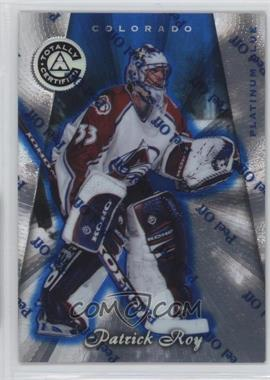 1997-98 Totally Certified - [Base] - Platinum Blue #2 - Patrick Roy /2599