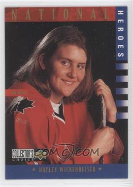 1997-98 Upper Deck Collector's Choice [???] #279 - Hayley Wickenheiser