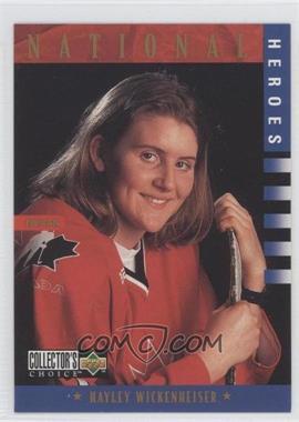 1997-98 Upper Deck Collector's Choice #279 - National Heroes - Hayley Wickenheiser