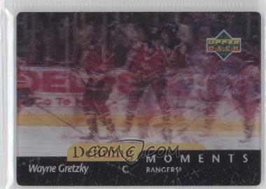 1997-98 Upper Deck Diamond Vision - Defining Moments #DM1 - Wayne Gretzky